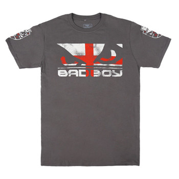 Bad Boy Herren T-Shirt Pride England Special Edition in Charcoal