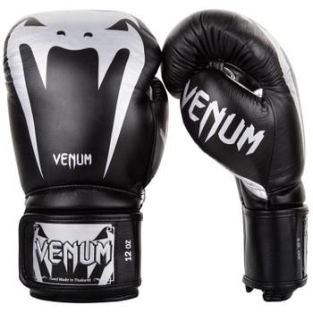 Venum Boxhandschuhe Giant 3.0 in Schwarz-Silber
