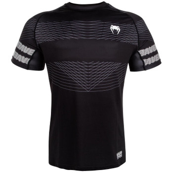 Venum Herren T-Shirt Club 182 Dry Tech in Schwarz