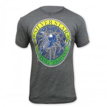 Silver Star Herren Signature T-Shirt Anderson Spider Silva 4 in Grau