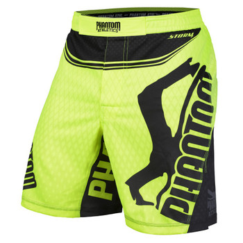 Phantom Athletics Herren Fight Shorts Storm Nitro in Neon