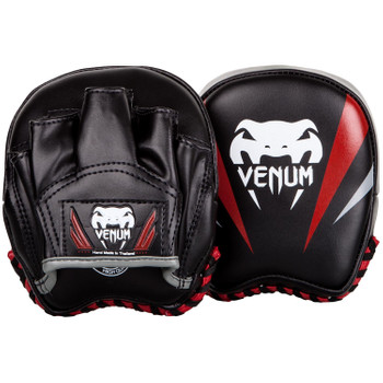 Venum Mini Punch Mitts Elite in Schwarz-Rot