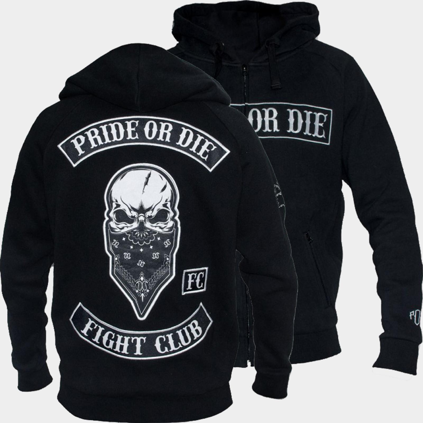 PRiDE or DiE Herren Zip-Hoodie Fight Club