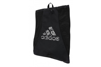 adidas Carry Sack in Schwarz
