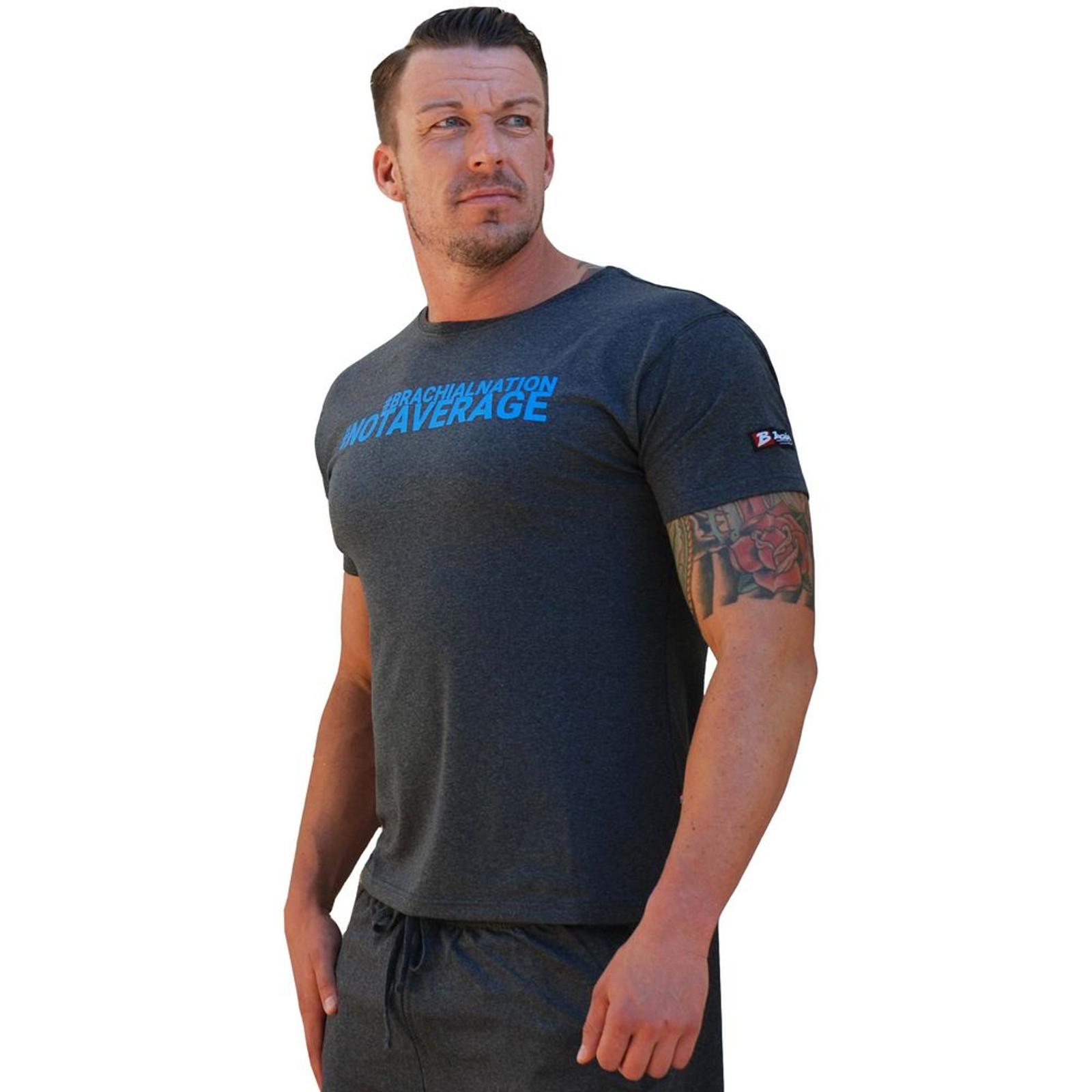 Brachial Herren T-Shirt Limited in Grau