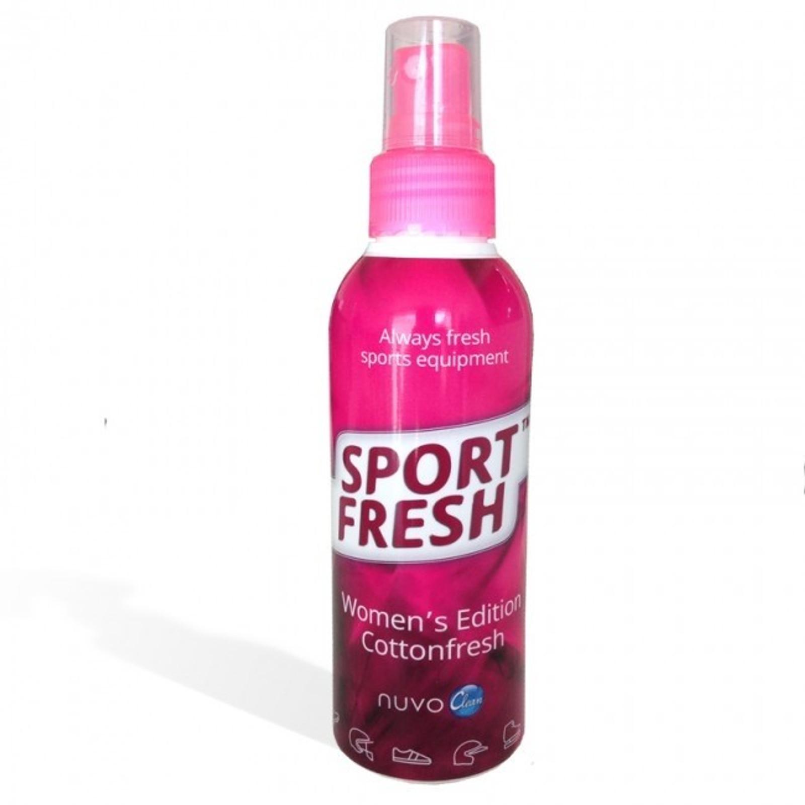 NuvoClean SportFresh Hygienespray Equipment Women's Edition Cottonfresh