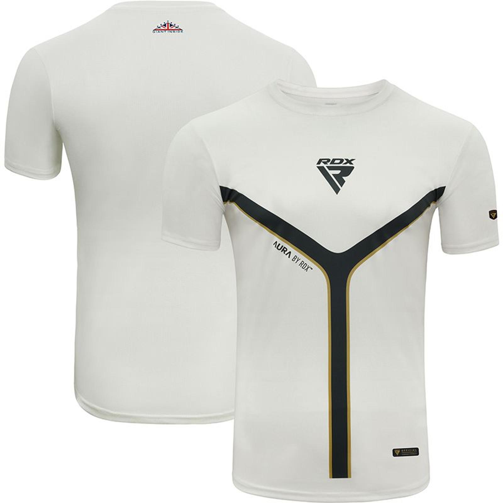 RDX Herren Kurzarm T-Shirt T17 Aura