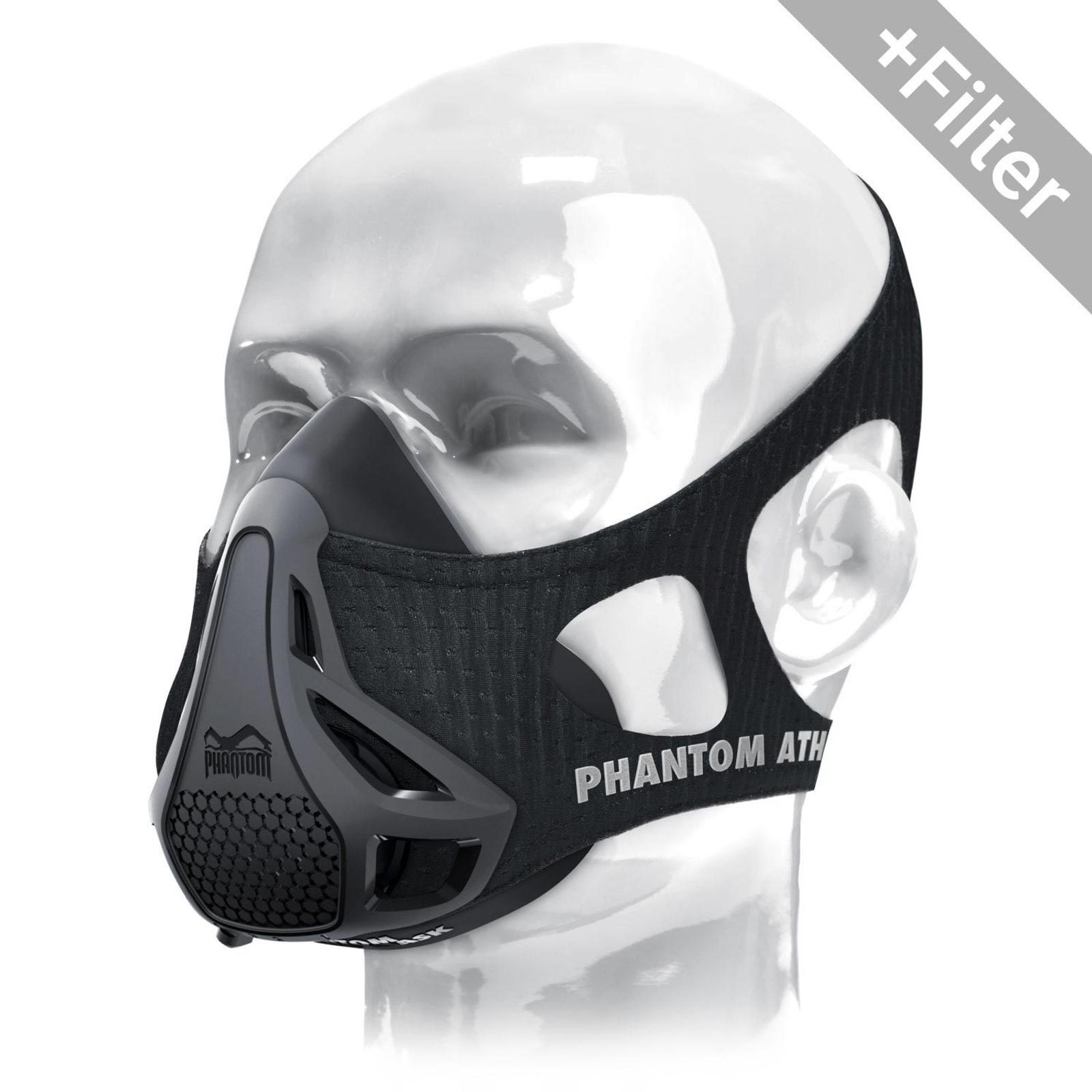 [Paket] Phantom Athletics Trainingsmaske mit GKD Filter
