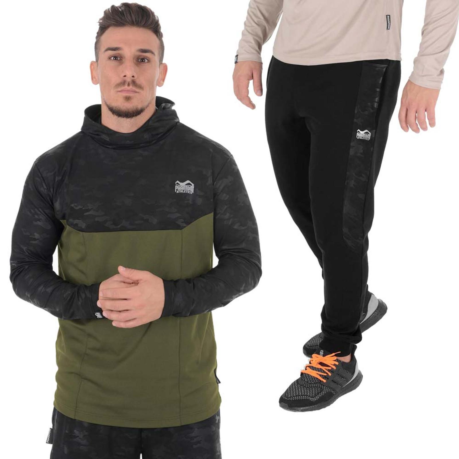 [Paket] Phantom Athletics Herren Outfit Bundle Shadow: Hoodie & Joggingshose