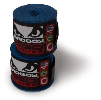 Bad Boy Pro Series Boxbandagen,  2.5 m in Blau