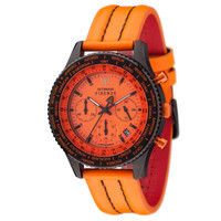 DETOMASO Chronograph FIRENZE BLACK ORANGE, SL1624C-OR
