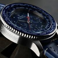 DETOMASO Chronograph FIRENZE SILVER BLUE, SL1624C-BL Bild 5