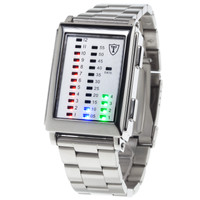 B-Ware DETOMASO Digitaluhr SPACY TIMELINE 1