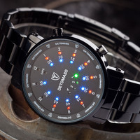 B-Ware DETOMASO Digitaluhr SPACY TIMELINE 2