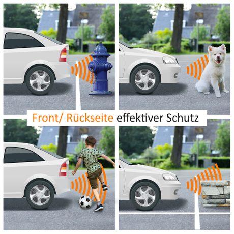 Premium Kombi-Set Einparkhilfe für vorne&hinten PDC-22145