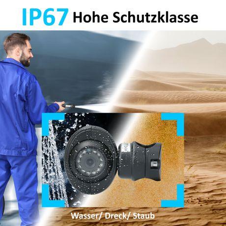 Spezial Rohrhalterung-Rückfahrkamera LKW RV-23135