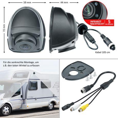 Seitenblick-Rückfahrkamera LKW RV-23136