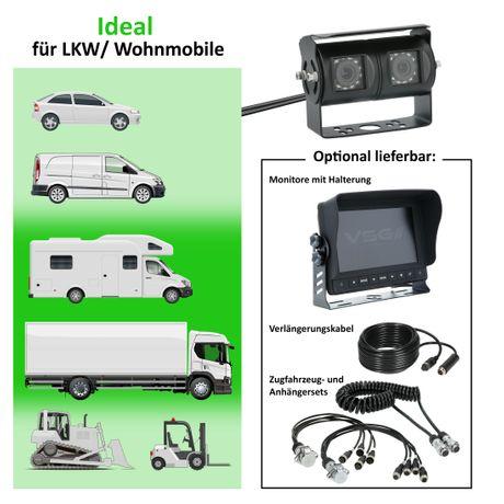 Doppellinsen Kamera 90/120 HD-720P  RV-23161
