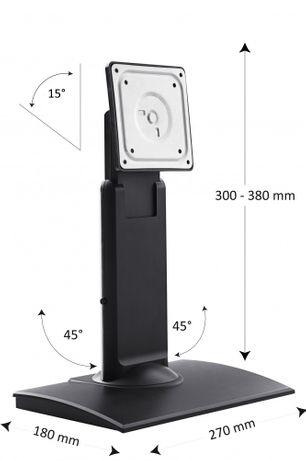 """Flexible verstellbare Monitorhalterung für PC Monitore / Kassen / POS 10""""-22"""" VESA100&75"""