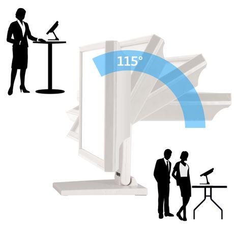 Standfeste Halterung für Touchscreens POS oder PC Monitore VSG-92005