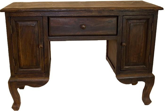Schreibtisch Holz Sekretar Antik Design Asien Mobel Asia 1 Schublade