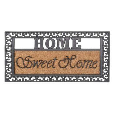 Fußabstreifer Kokosfußmatte Sweet Home 45x75cm Türmatte