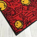 Waschbare Fußmatte Smiley - Dave rot 50x75 cm Wash+Dry Fußabstreifer – Bild 2