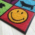 Waschbare Fußmatte Smiley - Dogs - Hunde ca 50 x 75 cm Wash+Dry – Bild 2