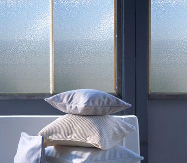 LINEA Fix Dekorfolie Hitech - statische Fensterfolie - Meterware 46 cm hoch