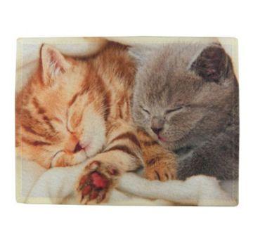 Tischset - Platzmatte - Katzen Katzenkinder - 2 teilig Kätzchen