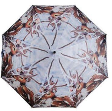 Regenschirm Hirsch - Stockschirm - Hirsche - Naturmotive