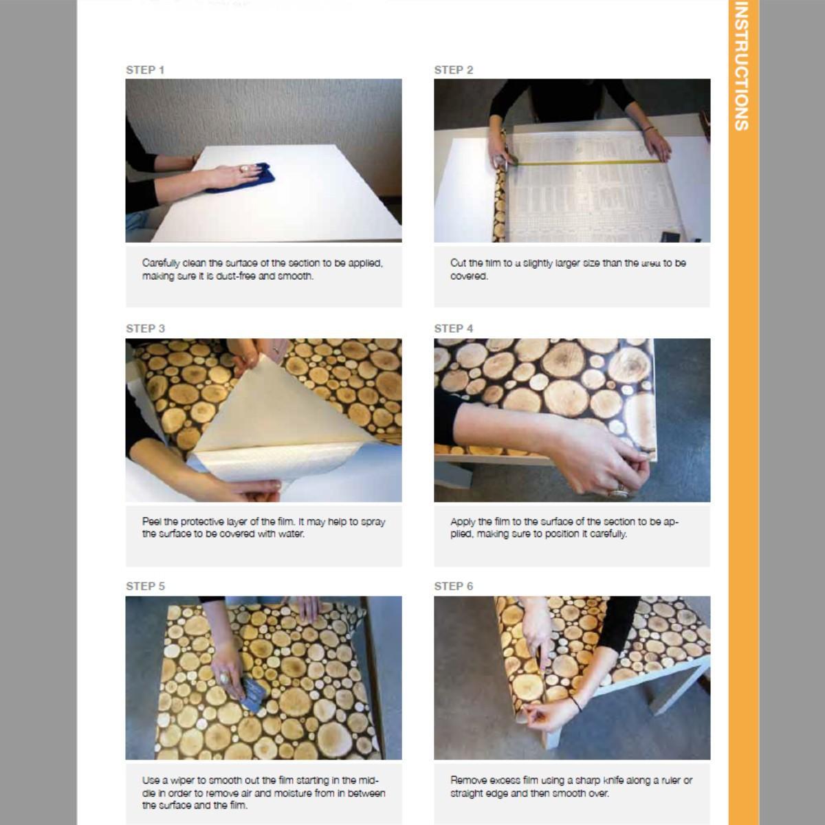 Klebefolie Mobelfolie Selbstklebend Beige Glanzend 45 Cm X 200