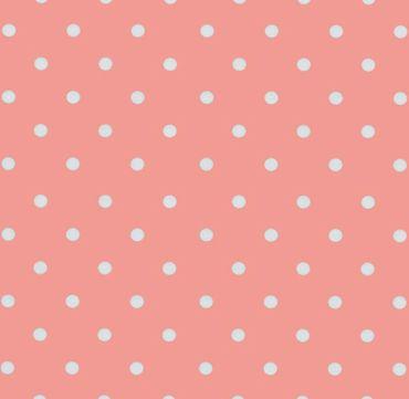 Klebefolie Vintage selbstklebende Möbelfolie Rosa Punkte  - Dots 0,45 m x 2 m