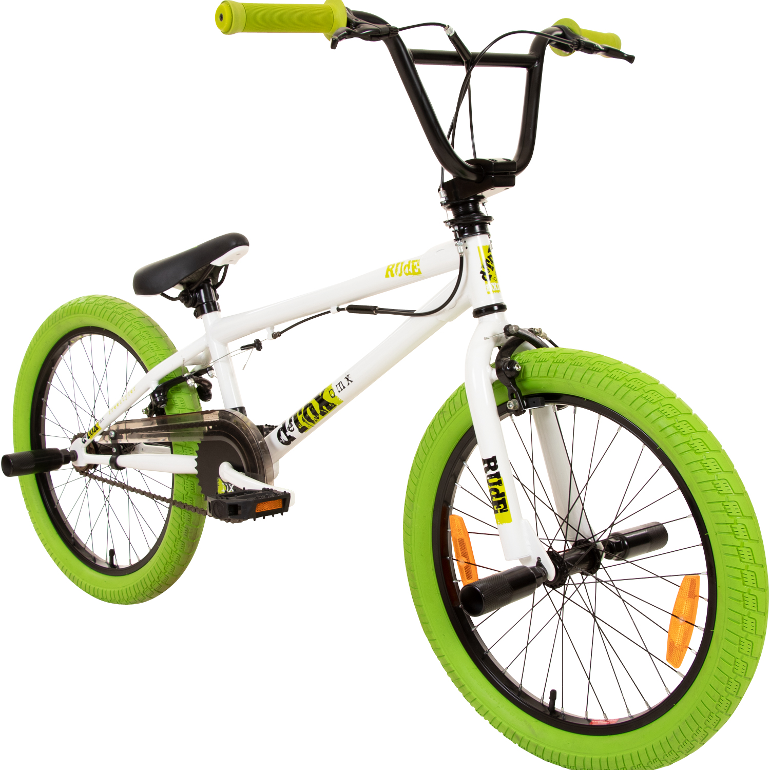 bmx 20 zoll fahrrad bike detox juicy freestyle mit 360. Black Bedroom Furniture Sets. Home Design Ideas