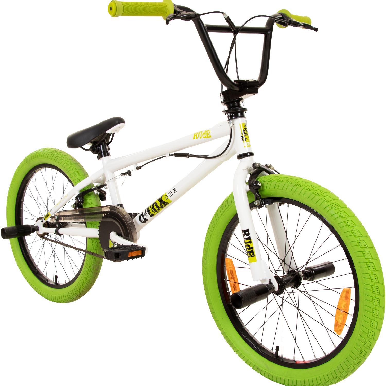 bmx 20 zoll fahrrad bike detox juicy freestyle mit 360. Black Bedroom Furniture Sets. Home Design Ideas