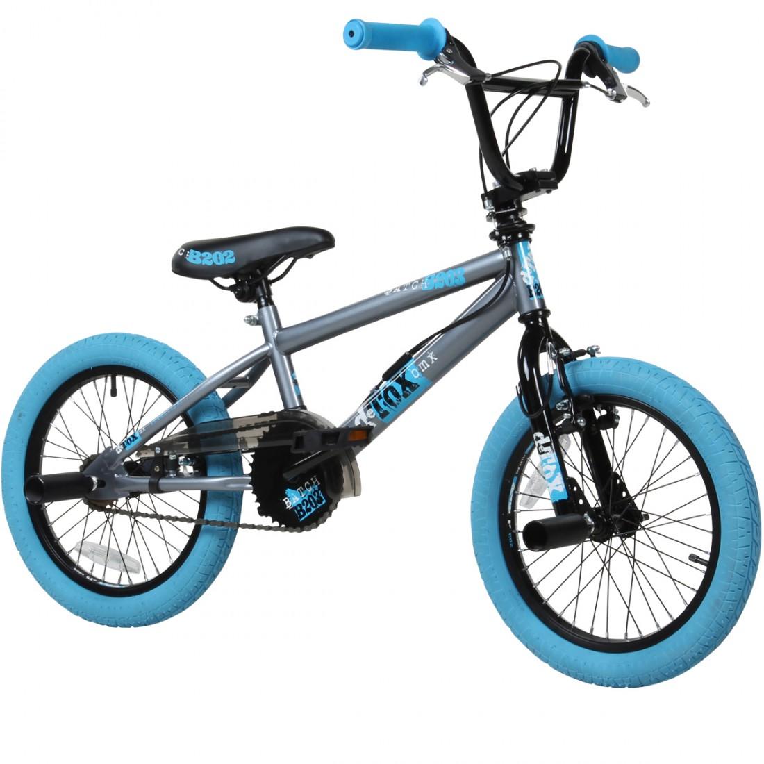 16 Zoll BMX deTOX Freestyle Kinder BMX Anfänger ab 115 cm 5J Fahrrad ...
