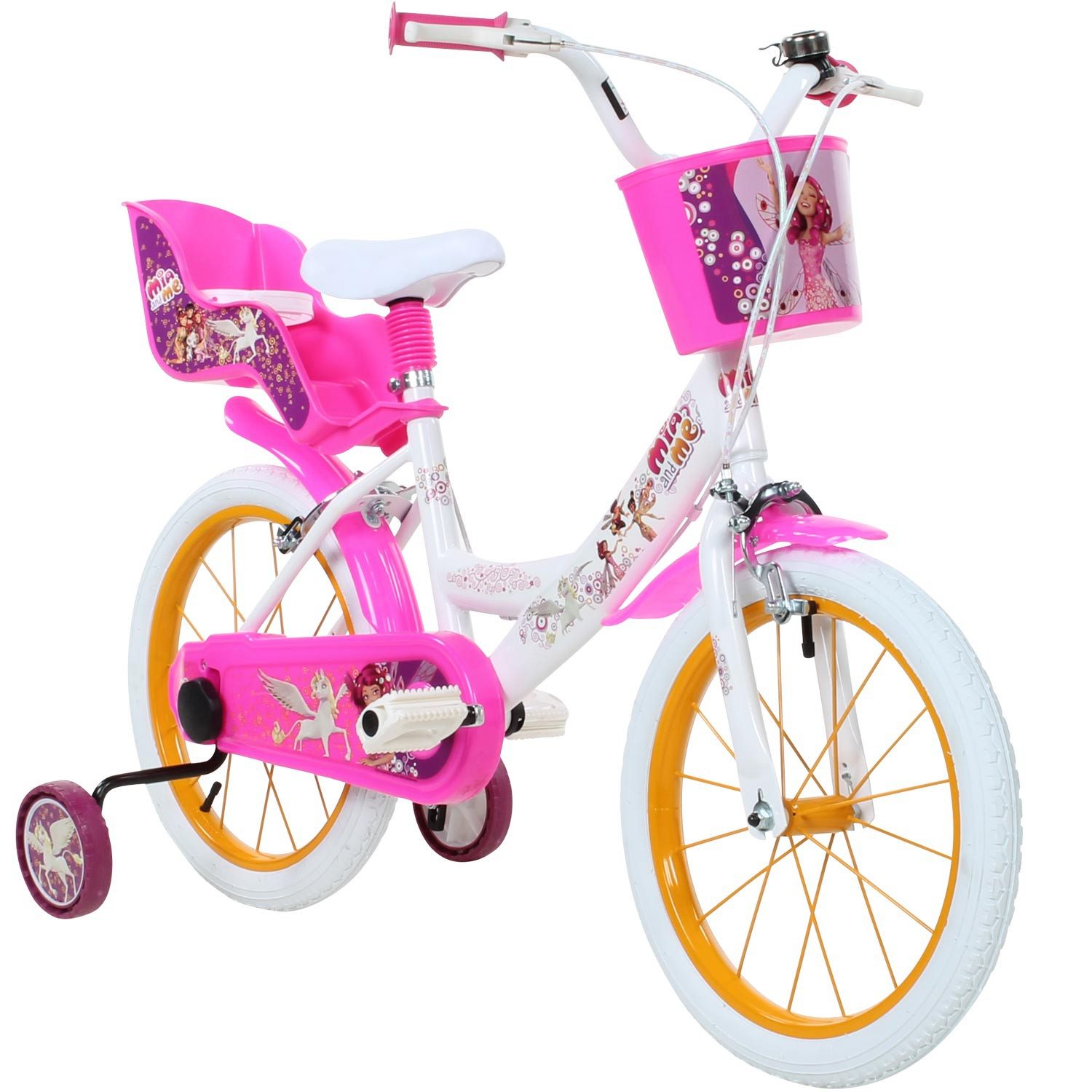 mia and me 16 zoll kinderfahrrad kinder anf nger fahrrad. Black Bedroom Furniture Sets. Home Design Ideas