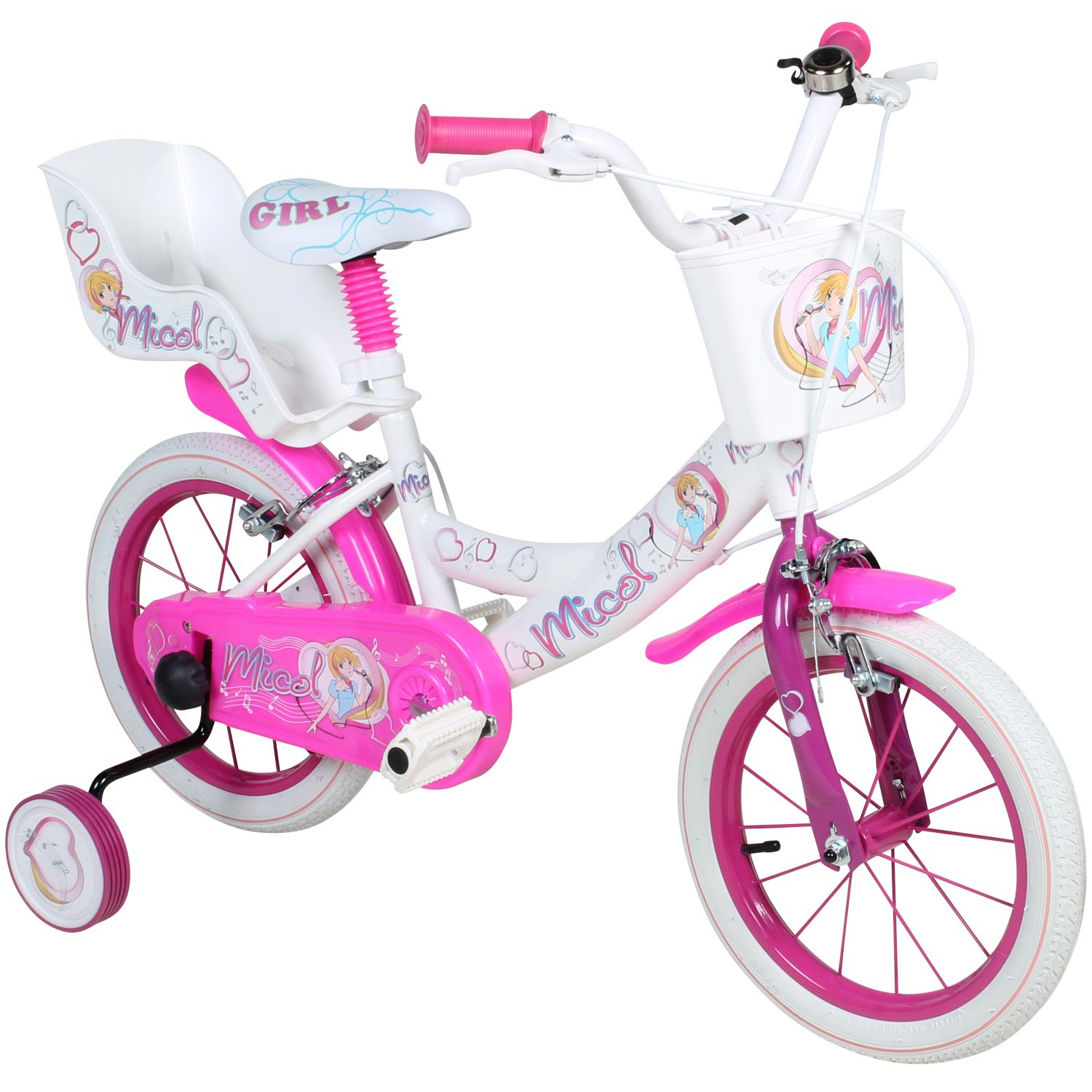 kinderfahrrad 14 zoll micol fahrrad kleinkind kids bike. Black Bedroom Furniture Sets. Home Design Ideas