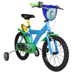 Disney Arlo & Spot 16 Zoll Kinderfahrrad Dinosaurier Fahrrad Stützräder ab ca. 4 Jahre