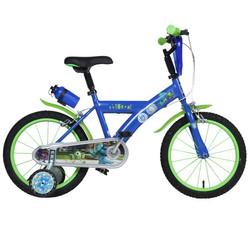 16 Zoll Disney Monster Uni Kinderfahrrad Mike Sulley Fahrrad Stützräder ab ca 4 Jahre Bild 2
