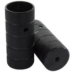 1 Paar 10mm oder 14 mm Schraubpegs BMX Peg Stahl oder Alu 3/8x26 TPI Zoll für Vollachse Gewinde Axle Trickachsen Fußrasten Fußraster Bild 6