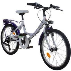 20 Zoll Disney Descendants Kinderrad Weiß Lila ab ca 6 Jahre Fahrrad Nachkommen