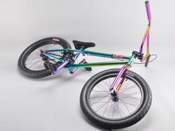20 Zoll mafiabikes BMX Bike NEOMAIN oilslick 4130 chromoly Harry Main Bild 4