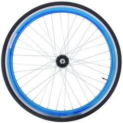 28 Zoll 700C Galano Vorderrad inkl Reifen Fixie Singlespeed Hochflansch Fixed Gear Wheel Bild 3