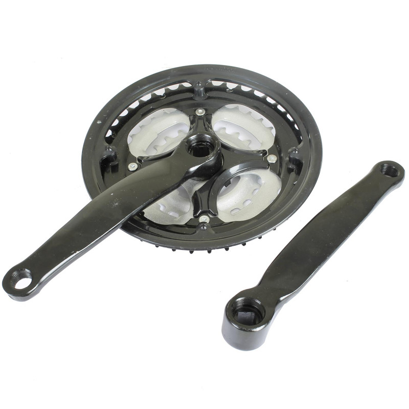 Galano MTB Kurbelgarnitur 170 mm 3-fach 24 - 42 Zähne Stahl