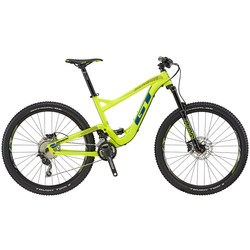 GT Sensor Comp 2018 27,5 Zoll Mountainbike MTB neongelb Fully Full Suspension