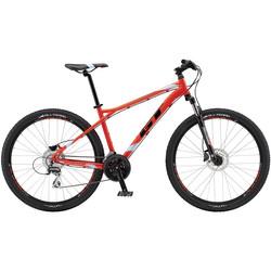 GT Aggressor Expert 27.5 Zoll Mountainbike MTB neon rot 650B