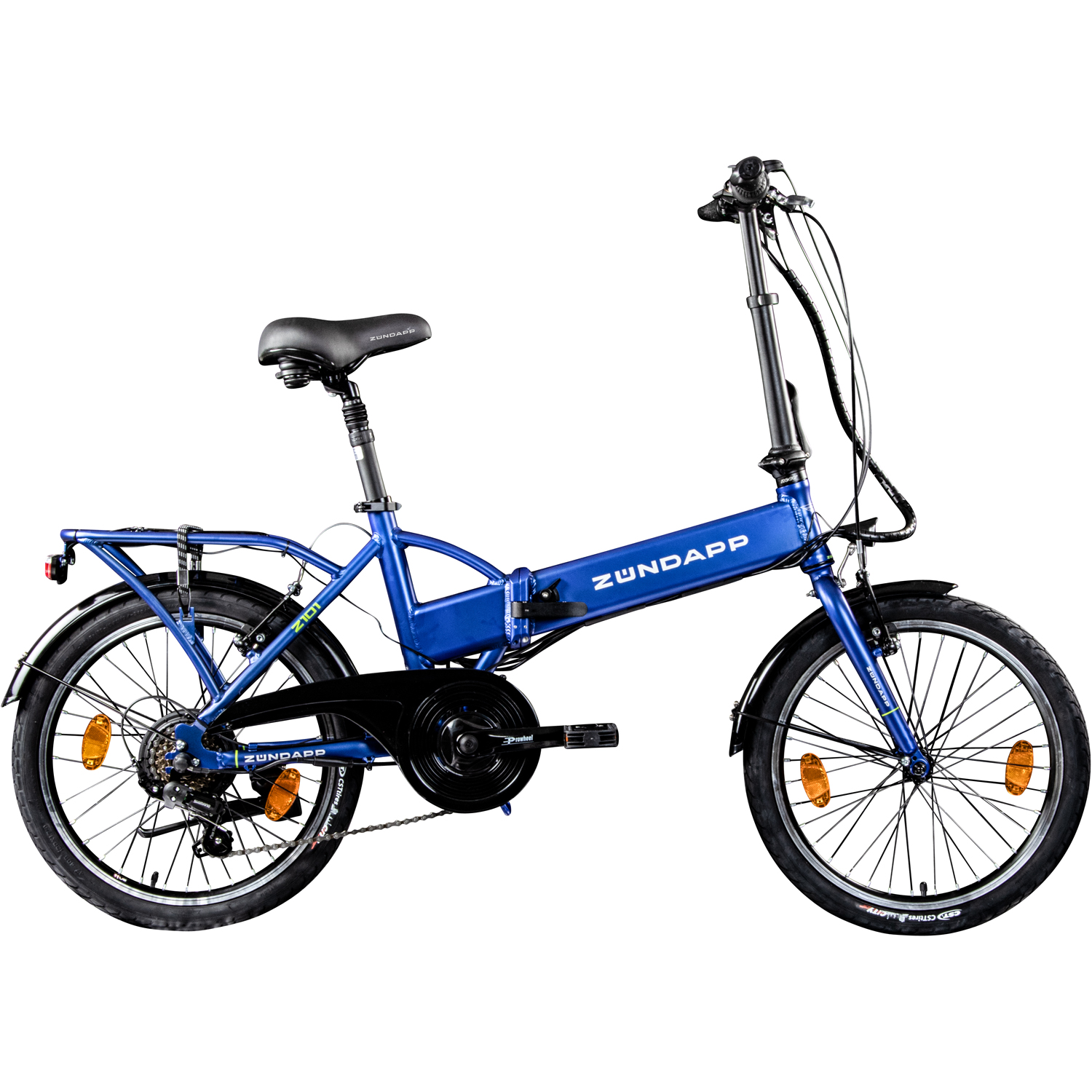 folding e bike 20 inches z ndapp z101 bike pedelec stvzo electric bicycle 6 gang ebay. Black Bedroom Furniture Sets. Home Design Ideas