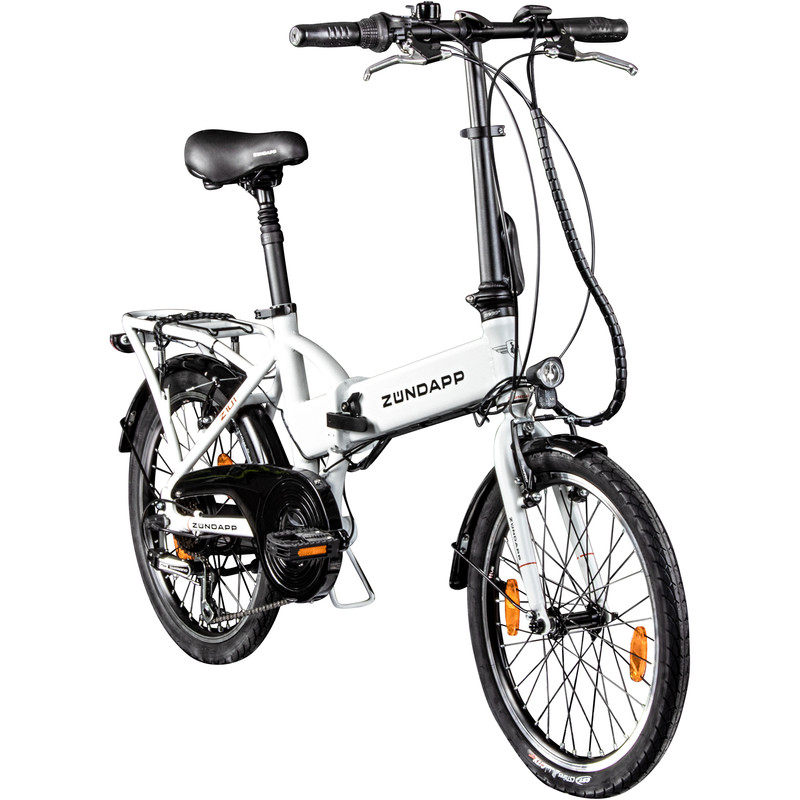 """Zündapp Z101 2"""" E-Bike Folding Bike City Urban Travel Bike"""