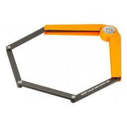 AXA Fahrradschloss AXA Toucan 120 Orange Faltschloss Bügelschloss